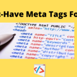 How Many Types Of Meta Tags Are There In A Website?